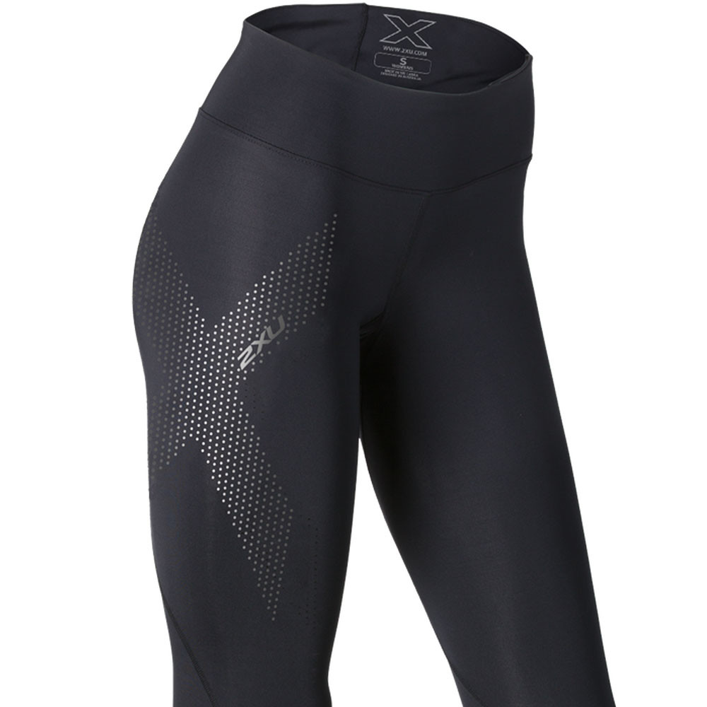 2xu mid rise women 39 s 7 8 compression running tights ss17. Black Bedroom Furniture Sets. Home Design Ideas