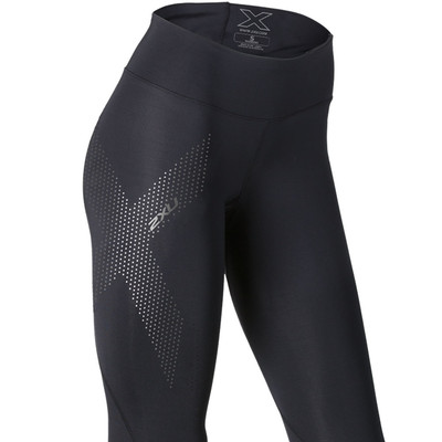 2XU Mid-Rise 7/8 Compression Women's Running Tights - AW19