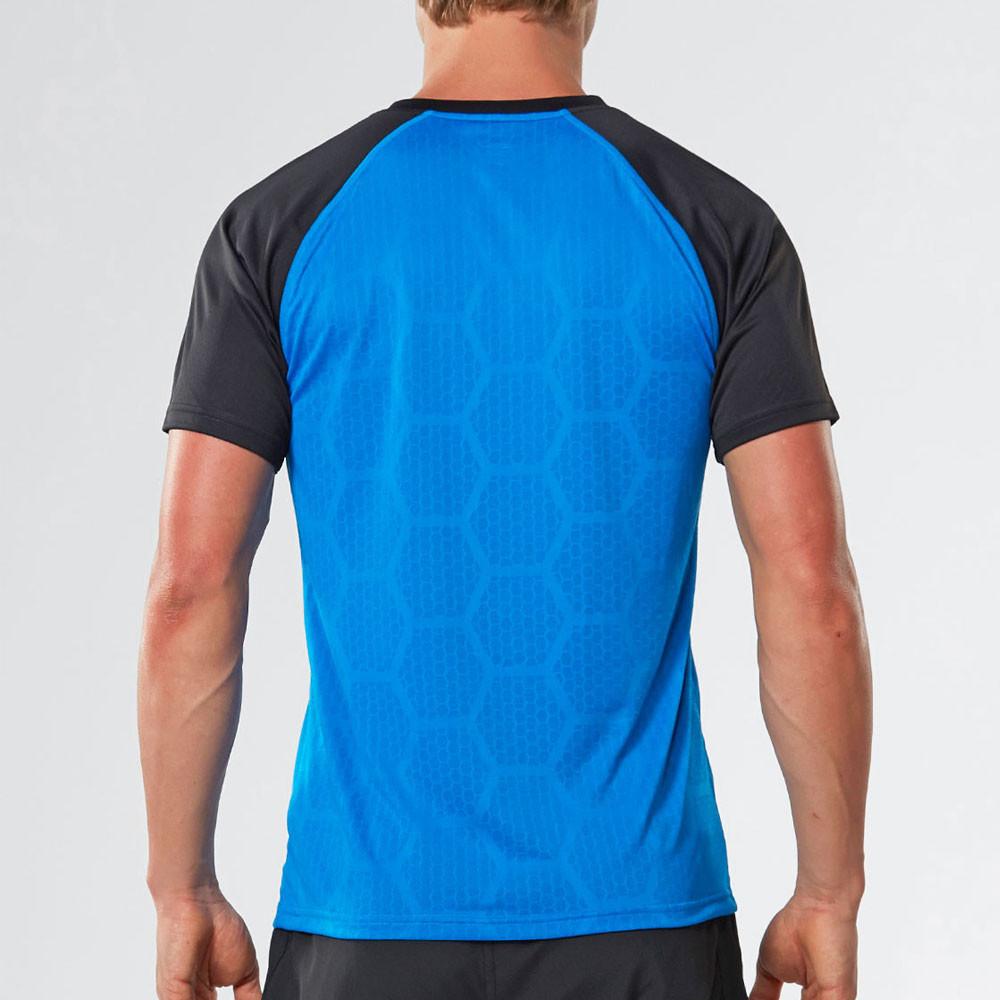 2xu Tech Vent Short Sleeve Running T Shirt Ss17