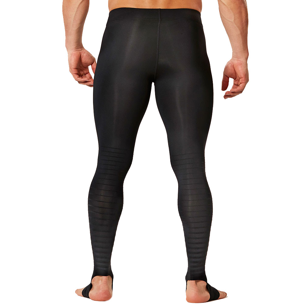 d75c3a5d8d 2XU Elite Recovery Mens Black Fitness Training Compression Tights ...