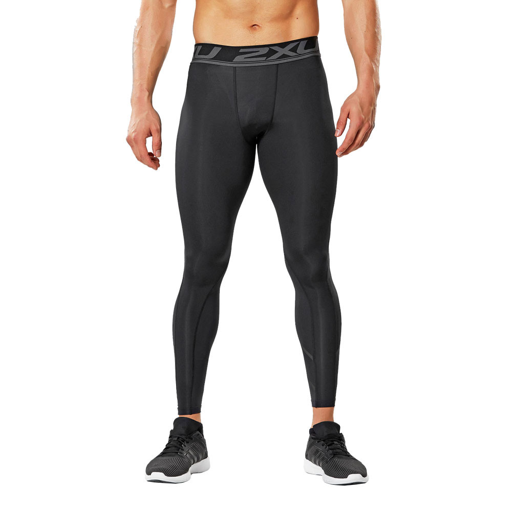Black Fitness, Running & Yoga Men's Clothing Knowledgeable 2xu Fitness Mens Long Compression Tights