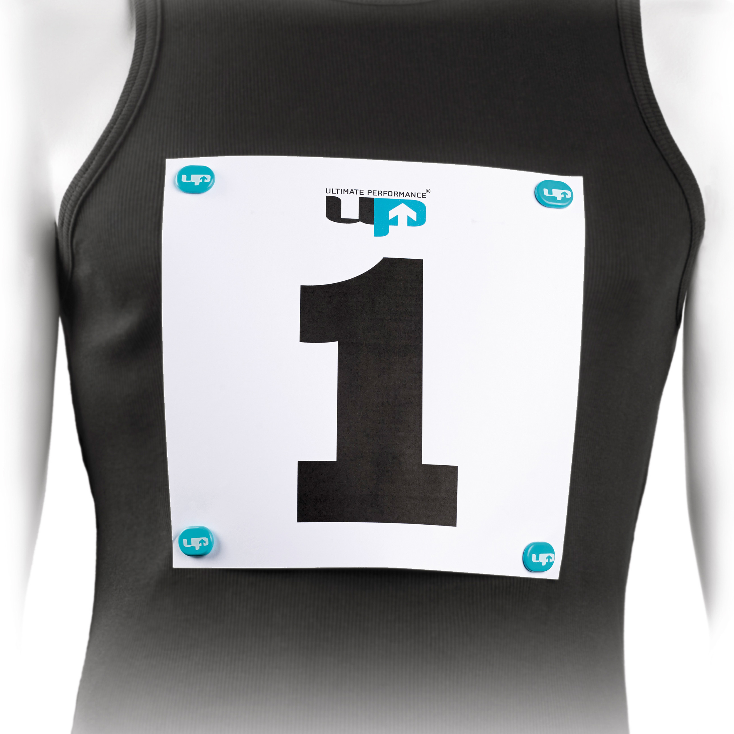 Purple Sports Running Ultimate Performance Unisex Race Number Magnets