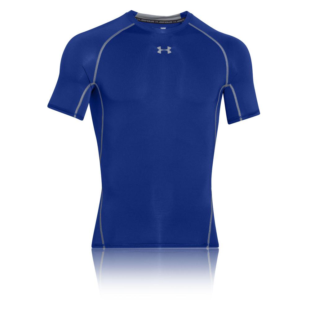 Under armour heatgear short sleeve compression t shirt for Under armour half sleeve shirt