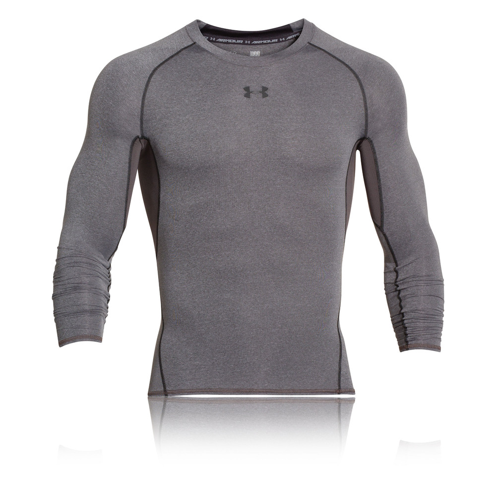 US Stock Men Round Neck Gym Compression Sport Long Sleeve Knitwear Knitted Shirt