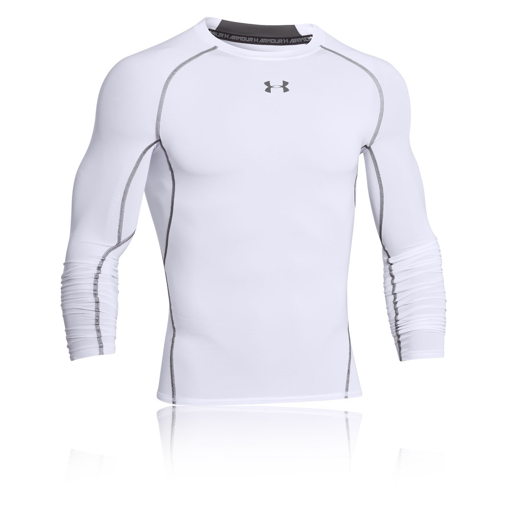 Under armour heatgear long sleeve compression top ss18 for Do under armour shirts run small