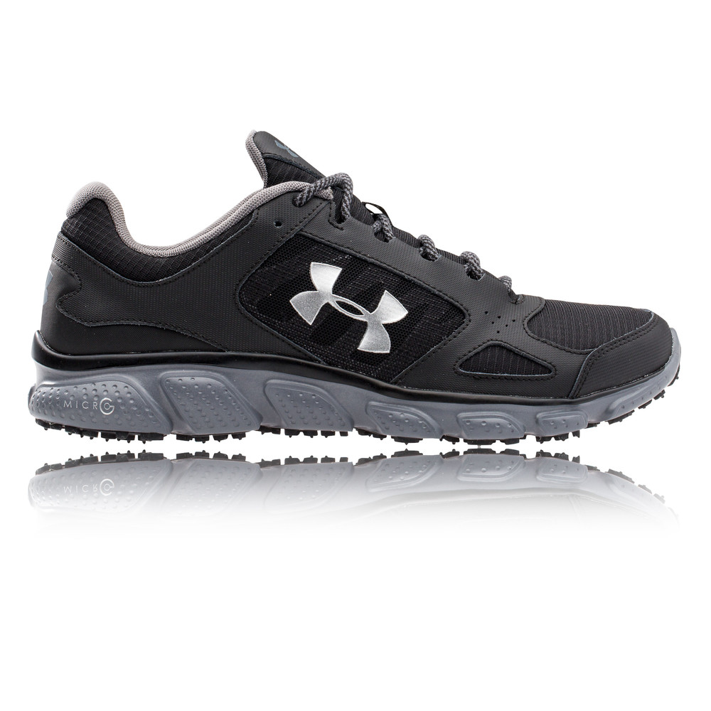 Under Armour Micro G Assert V Grit Trail Running Shoes