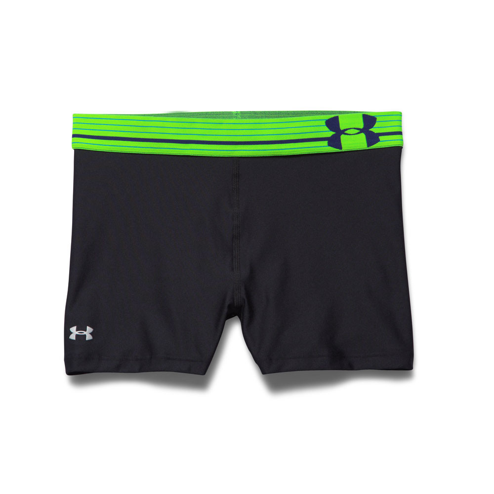 Perfect Under Armour Ua Authentic 4quot Compression Short In Black  Lyst
