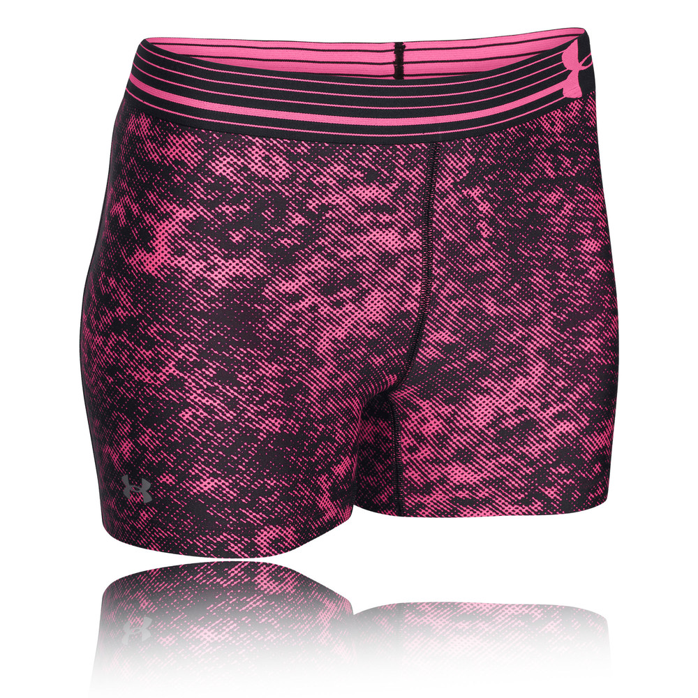 under armour heatgear armour women 39 s compression printed shorts. Black Bedroom Furniture Sets. Home Design Ideas