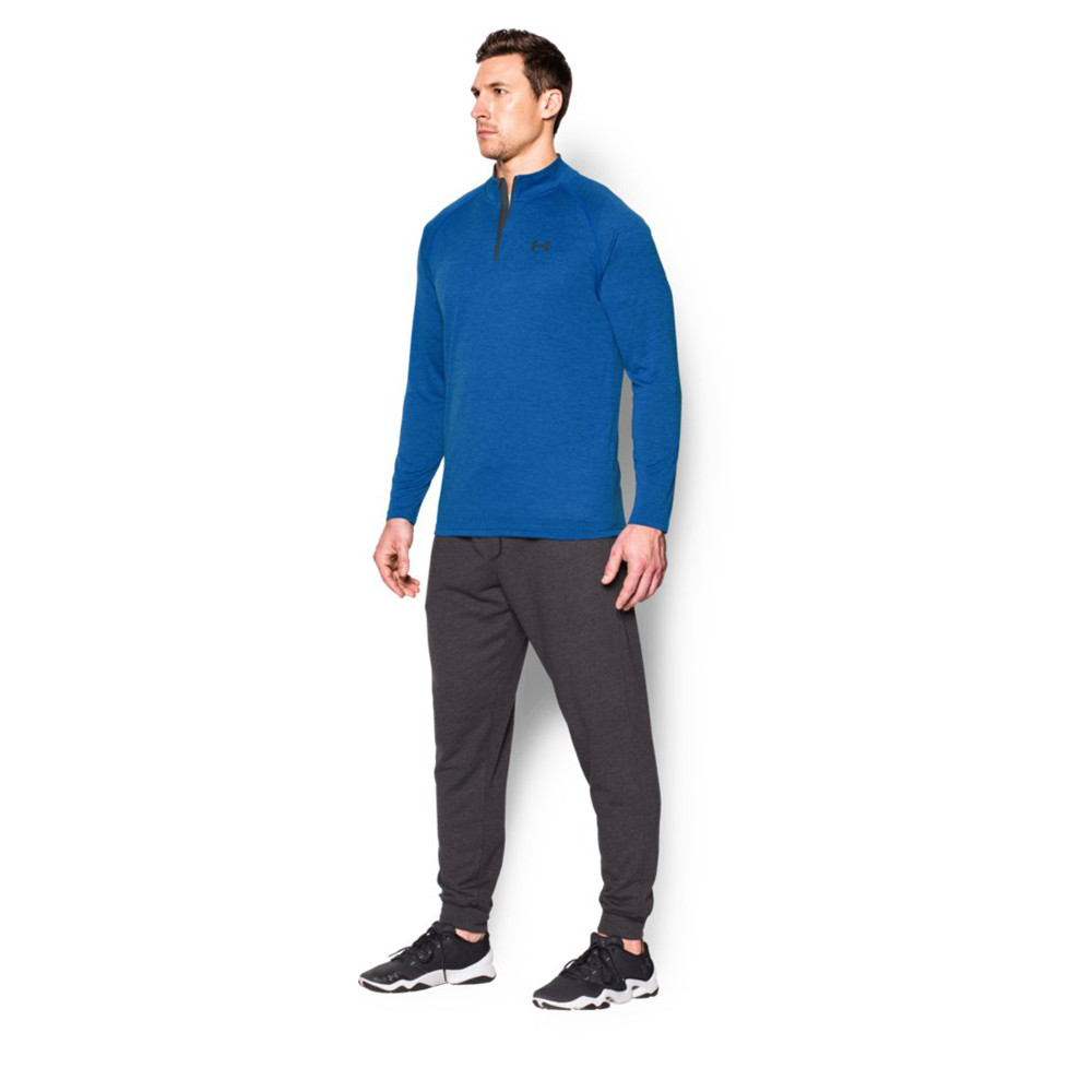 Under Armour Tech Quarter Zip Long Sleeve Running Top