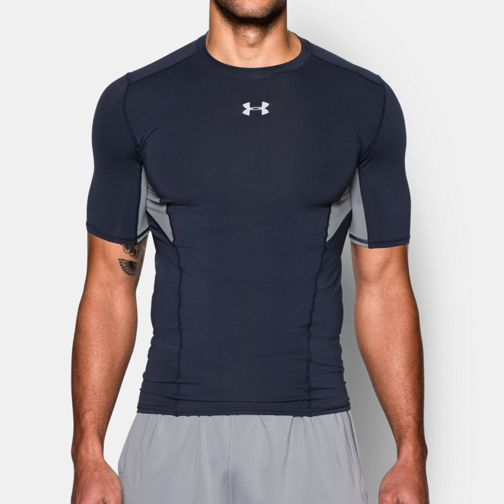 Under armour coolswitch compression t shirt ss16 for Compressed promotional t shirts