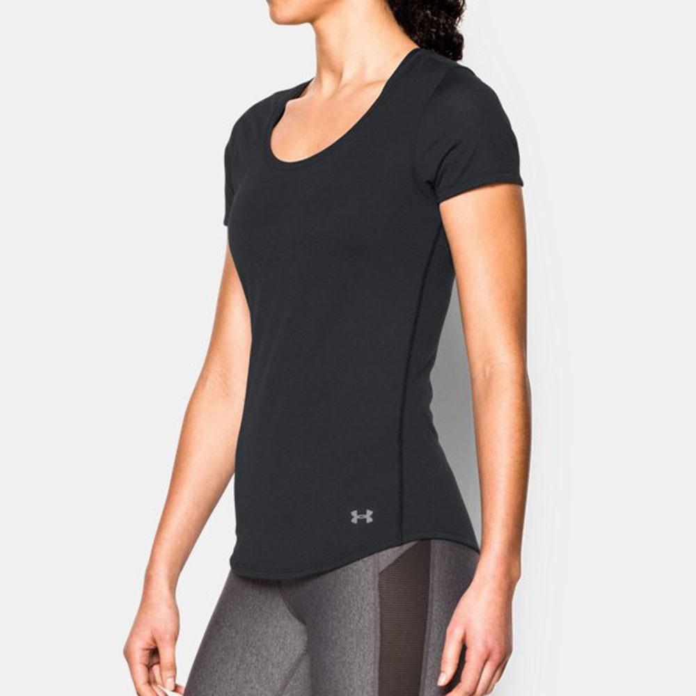 Under armour women 39 s streaker running t shirt ss17 for Do under armour shirts run small