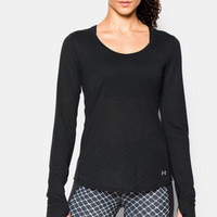 UNDER ARMOUR DONNA UA CHARGED RUN MANICA LUNGA TOP - SS16