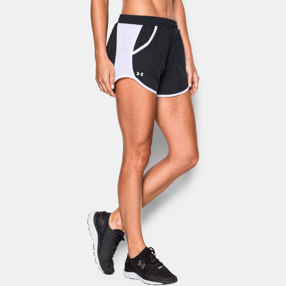 Under armour fly by women 39 s running shorts aw16 for Women s fishing shorts