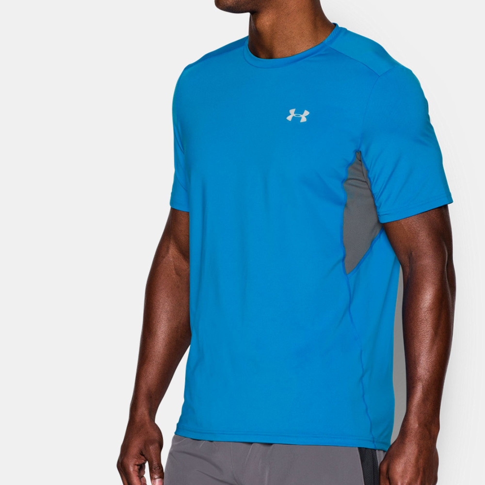 Under armour coolswitch run t shirt for Do under armour shirts run small