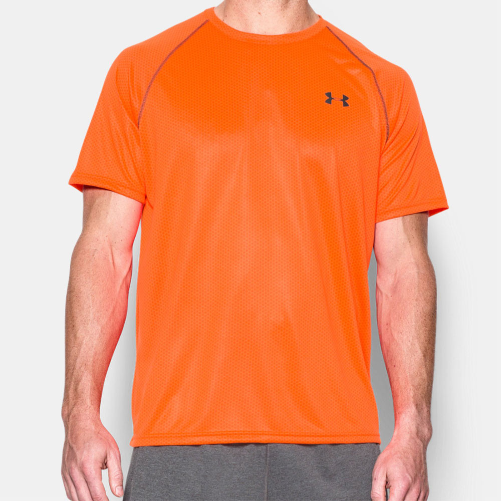 Under armour printed tech t shirt for Under armour printed t shirts