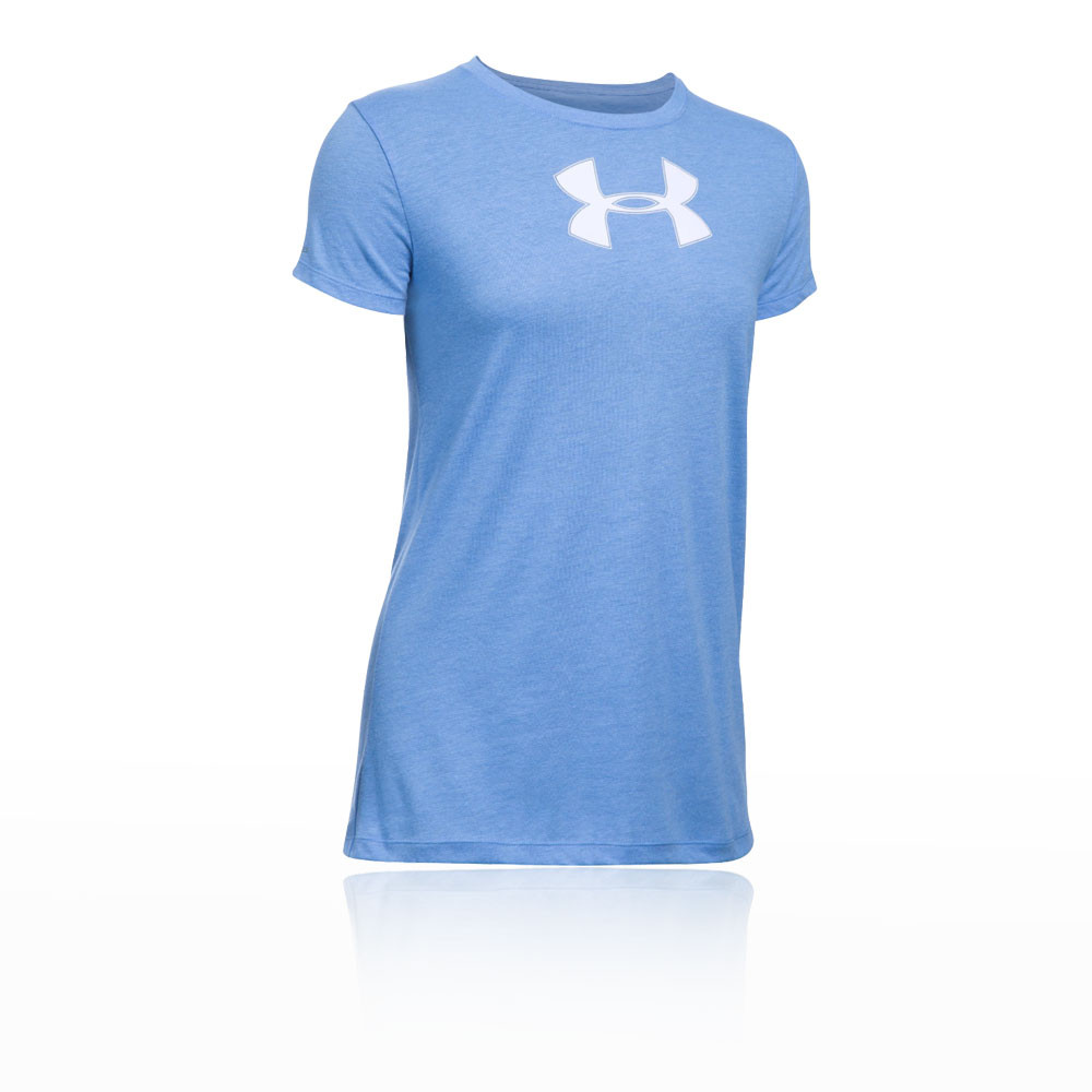 Under armour para mujer big logo t shirt for Under armour big logo t shirt