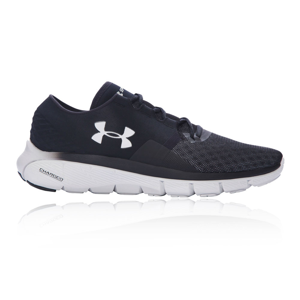 under armour speedform fortis 2 1 mens black sneakers running shoes trainers. Black Bedroom Furniture Sets. Home Design Ideas