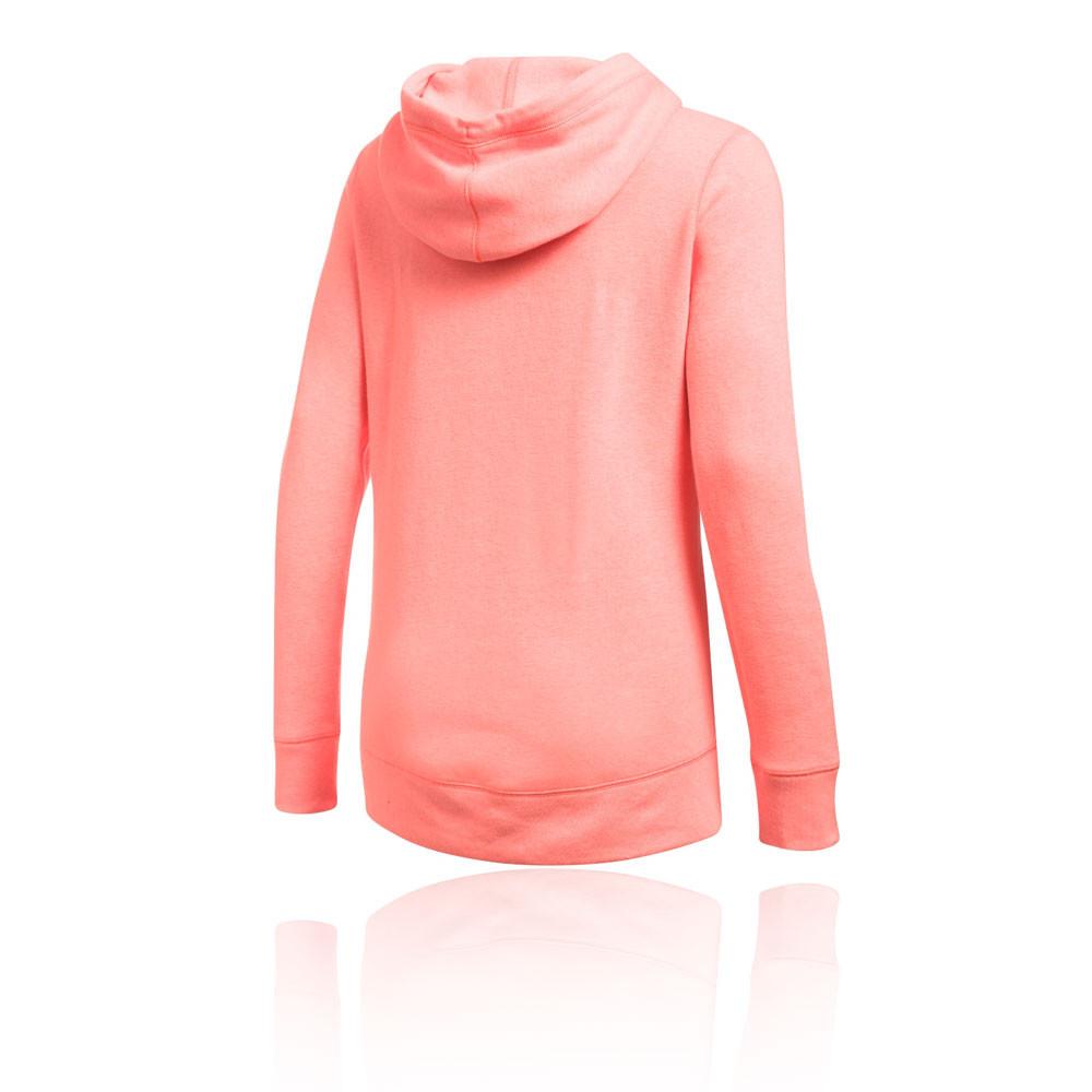 Womens pink under armour hoodie