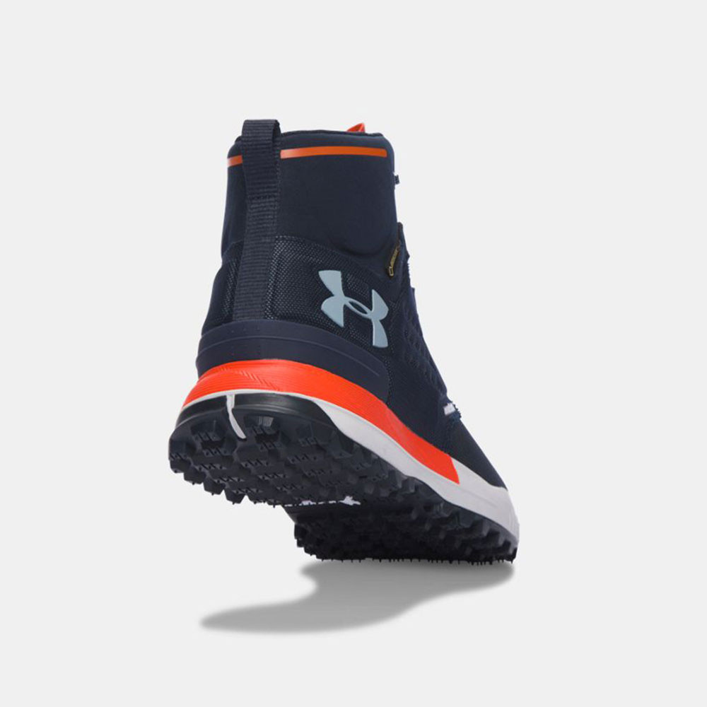 new concept 014c6 ab3db Under-Armour-Newell-Ridge-Mid-Mens-Blue-Waterproof-