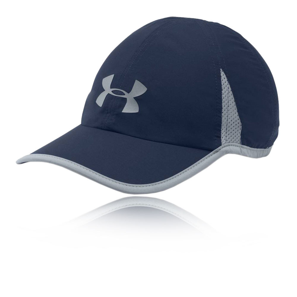 9f1e29c5c16 Details about Under Armour Mens Shadow 4.0 Running Cap Navy Blue Sports  Reflective