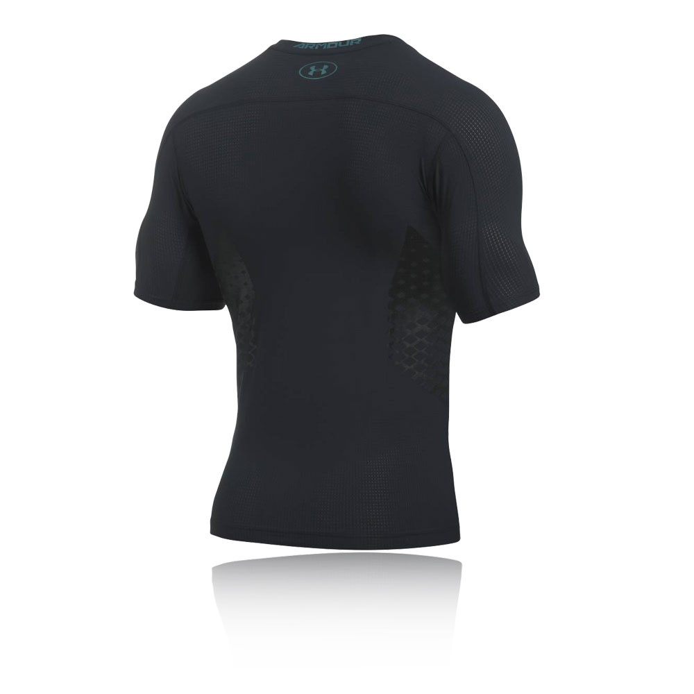 Under armour heatgear zonal mens black compression short for Compression tee shirts for men