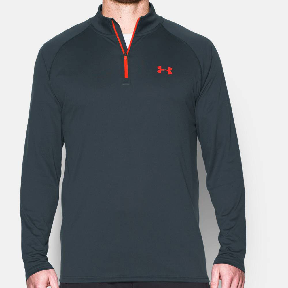 under armour qualifier 1 4 zip. under armour tech 1/4 zip running top - ss17 qualifier 1 4