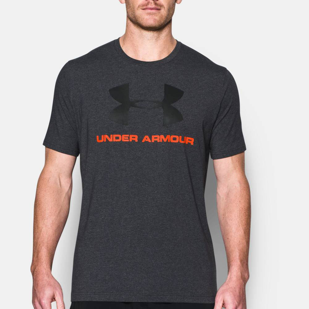 Under armour sportstyle logo training t shirt ss17 for Under armour lifting shirts