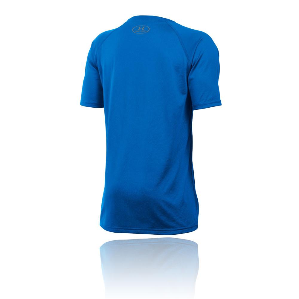 Under Armour Tech Big Logo Ss Junior Running T Shirt