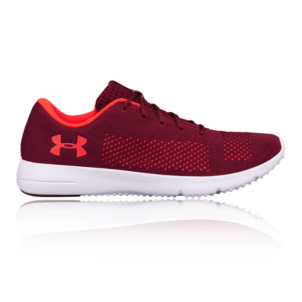 7660c09f5b Details about Under Armour Mens Rapid Running Shoes Trainers Red Sports  Breathable Lightweight
