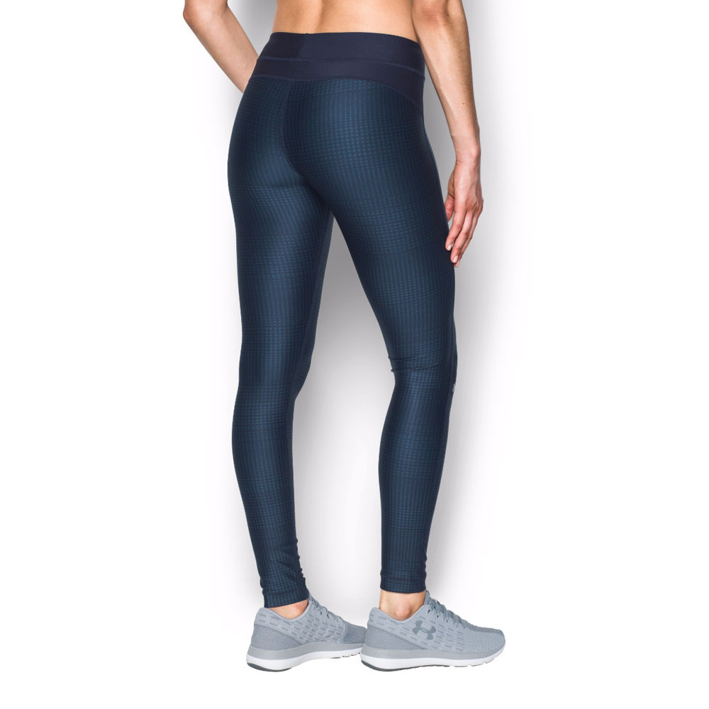 under armour damen blau kompression jogging lang sport tight hose laufhose ebay. Black Bedroom Furniture Sets. Home Design Ideas