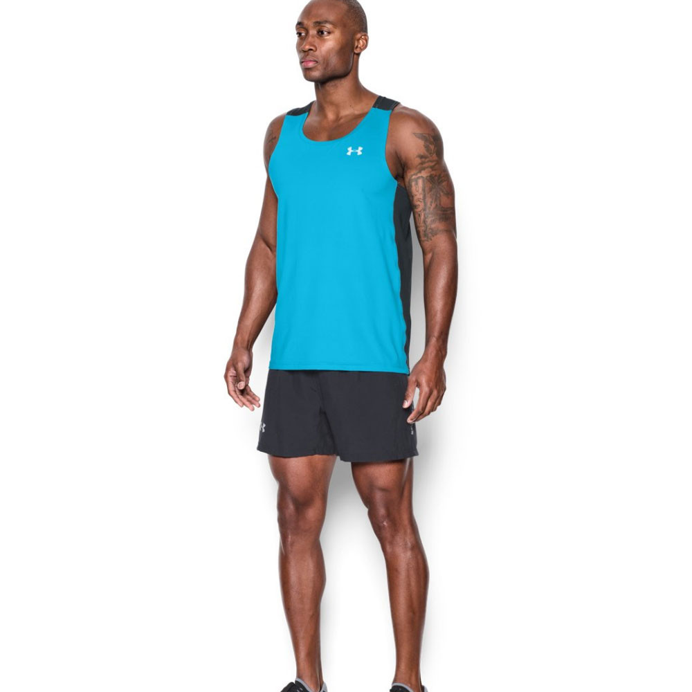 Under armour coolswitch run vest for Do under armour shirts run small