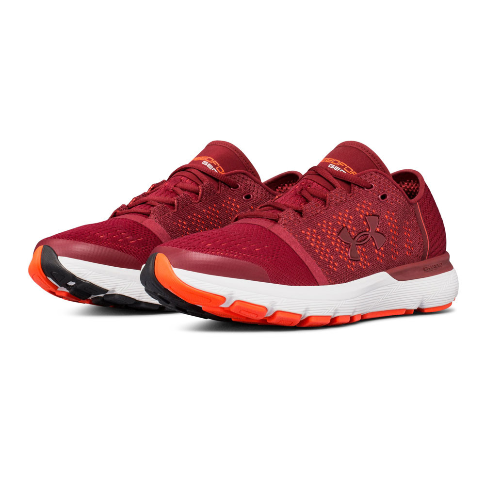 Speedform Course Under Hommes Chaussures Vent Gemini Pied Armour Rouge Baskets wq77RxYE