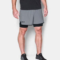 Under Armour Qualifier 2 en 1 Training pantalones cortos - AW18