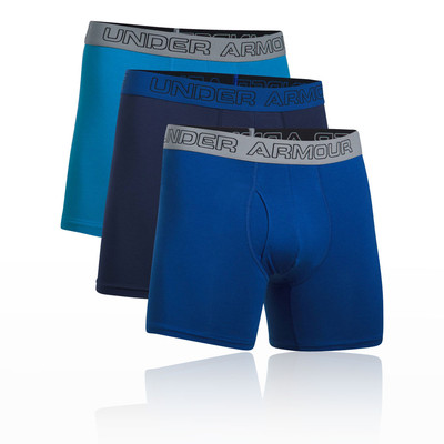 Under Armour Charged Cotton 6″ Boxerjock (3 Pack)