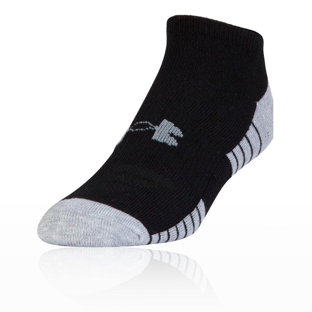 Under Armour HeatGear Tech No-Show Running Socks (3 Pack) - SS19