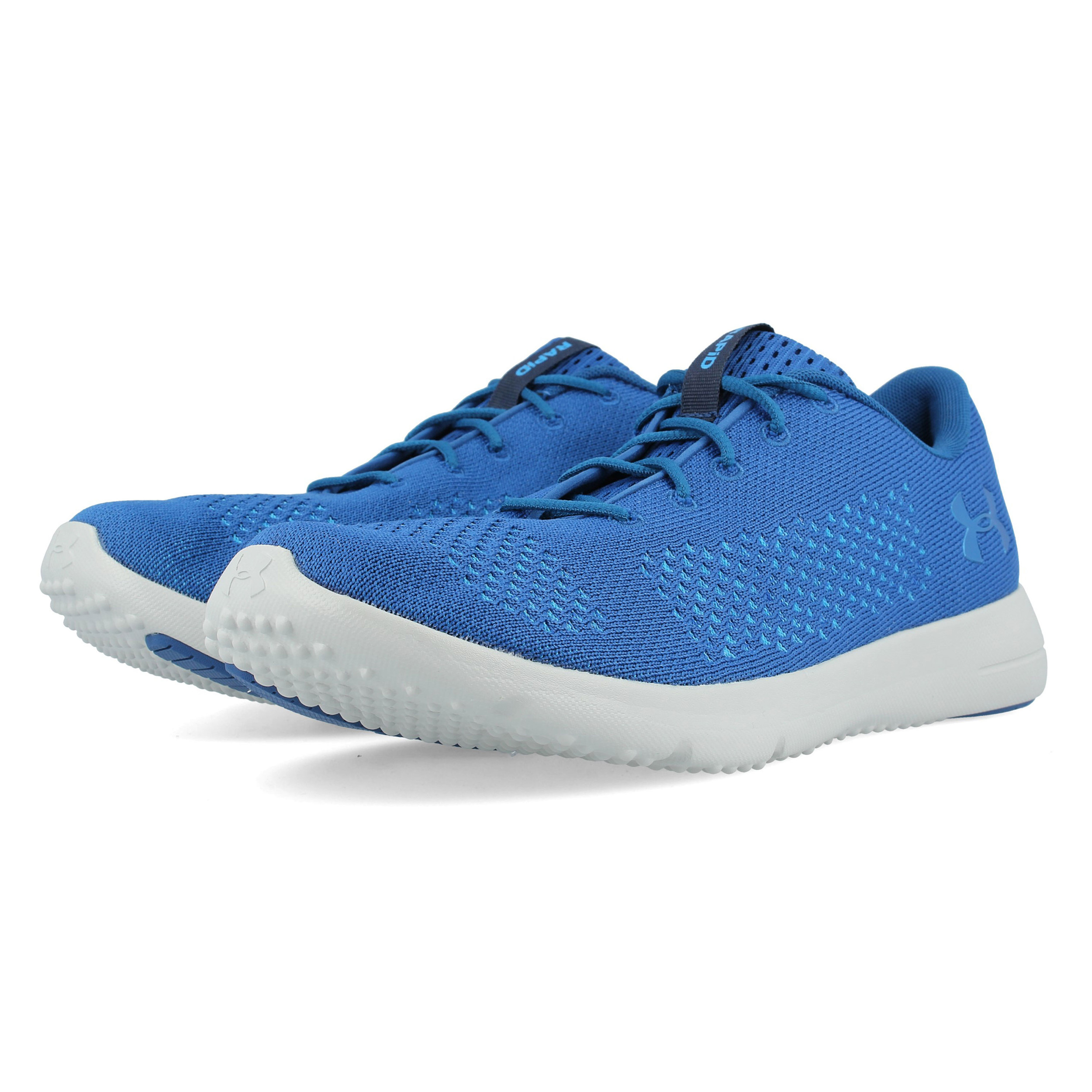 d22eca0949 Details about Under Armour Mens Rapid Running Shoes Trainers Sneakers Blue  Sports Breathable