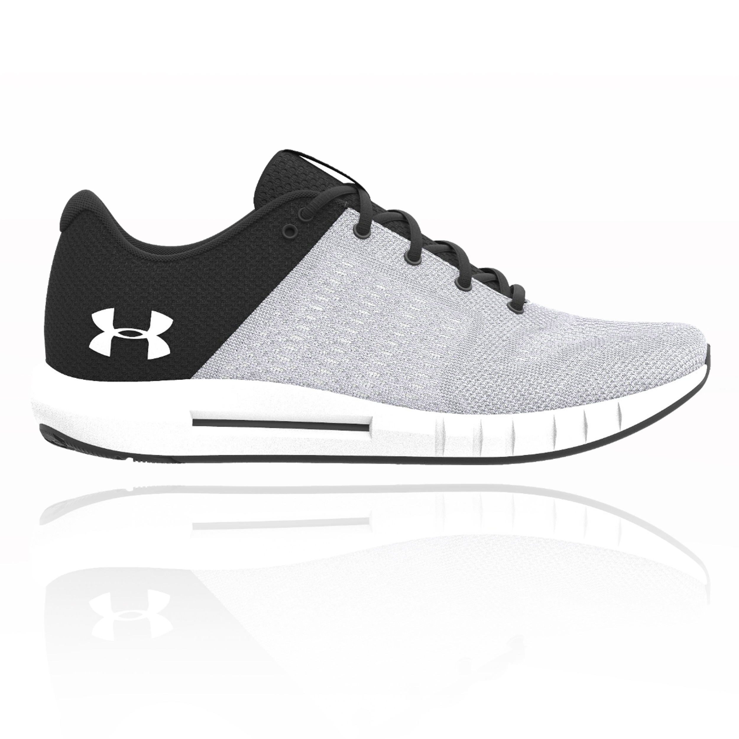8c5bbe493e Details about Under Armour Mens Micro G Pursuit Running Shoes Trainers  Sneakers Grey Sports