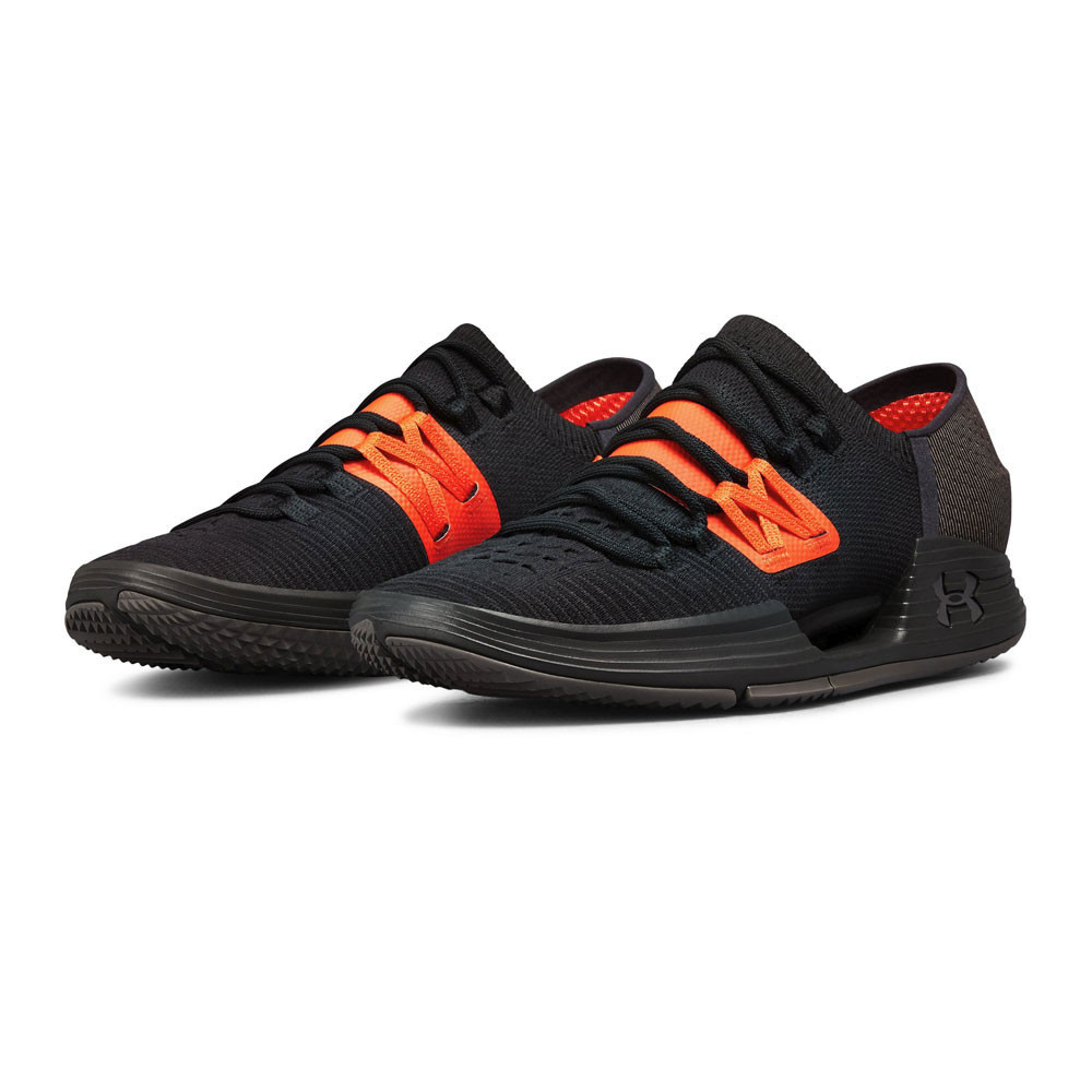 eeb8bd78ab Under Armour Mens Speedform AMP 3.0 Training Gym Fitness Shoes Black Sports