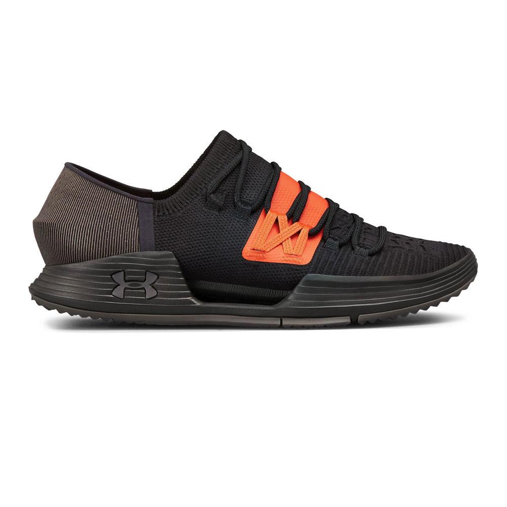 Under Armour Mens Speedform AMP 3.0 Training Gym Fitness Shoes Black Sports b0068ce71b71e