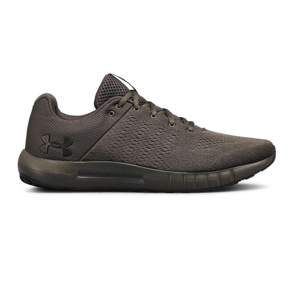 Under Armour Pied Hommes Micro G Pursuit Chaussures De Course à Pied Armour Baskets Vert 0d6140