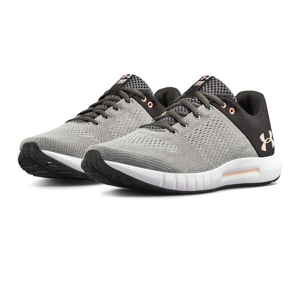 c888df9eff2 Details about Under Armour Womens Micro G Pursuit Running Shoes Trainers  Sneakers Grey Sports