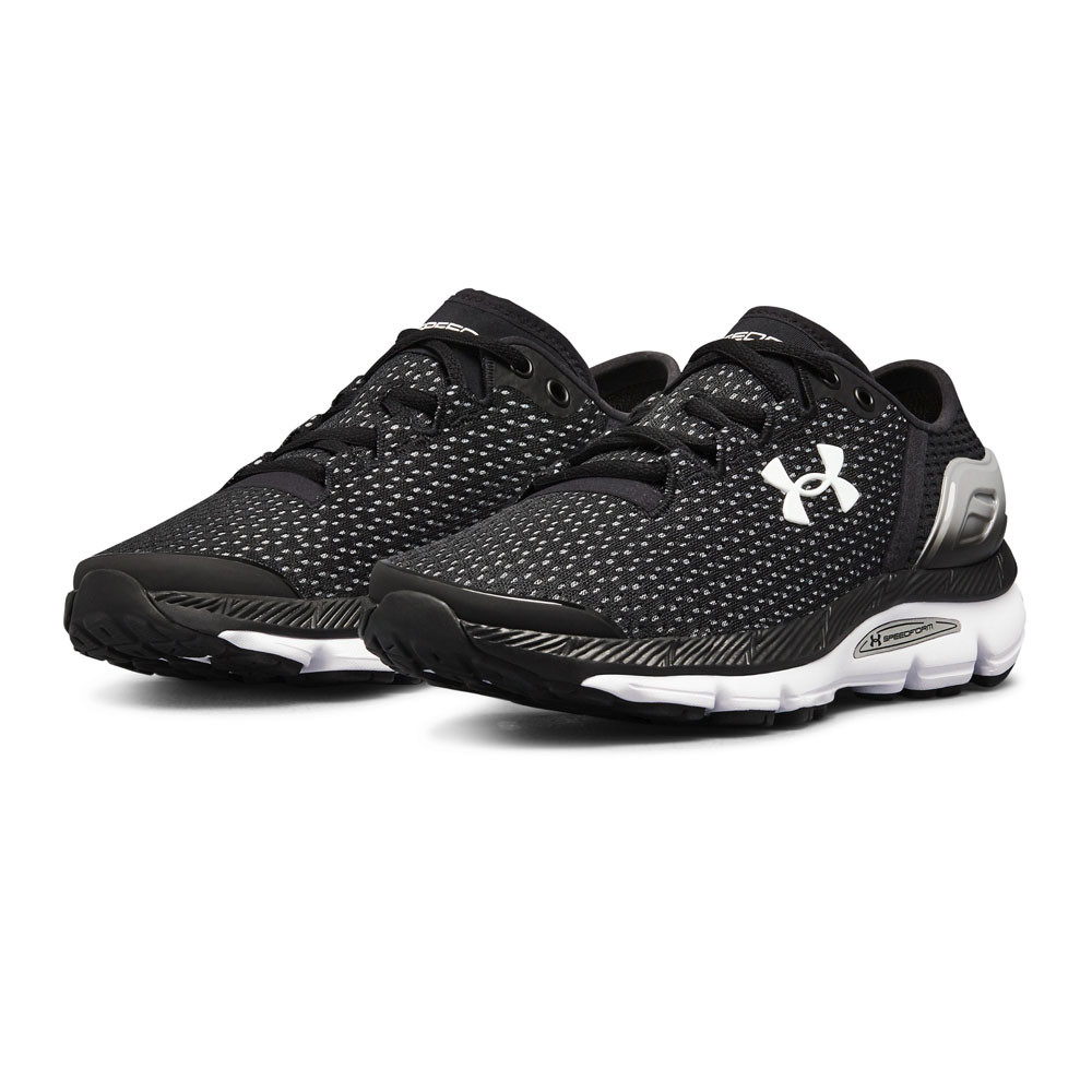 Details about Under Armour Womens Speedform Intake 2 Running Shoes Trainers  Sneakers Black 1aa22afc937