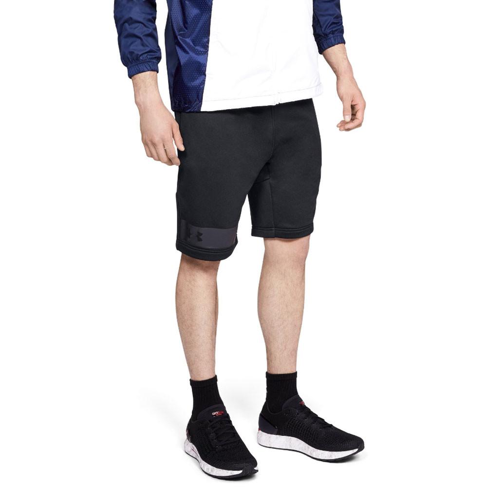 7b0d829dea Details about Under Armour Mens MK-1 Terry Shorts Pants Trousers Bottoms  Black Sports Gym
