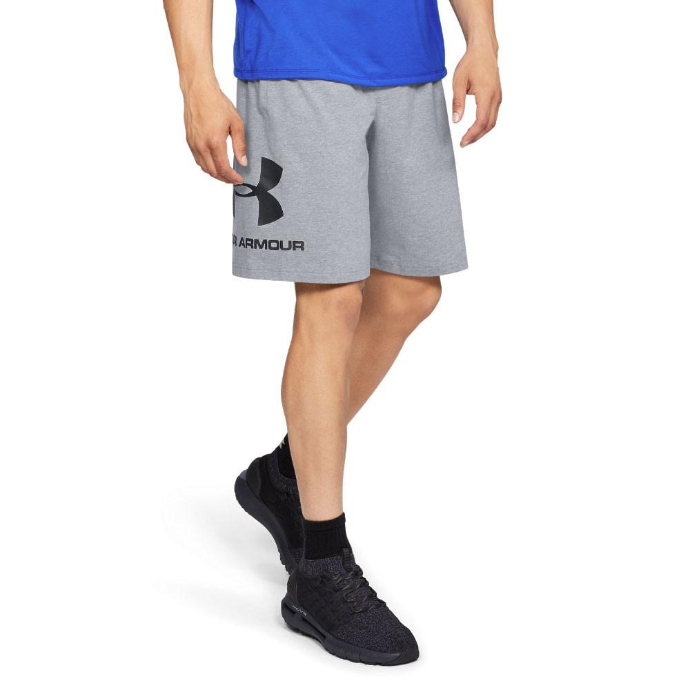 braderie sélectionner pour le dédouanement couleurs délicates Détails sur Under Armour Hommes Sportstyle Graphique Short Sportif Bermuda  Gym Gris