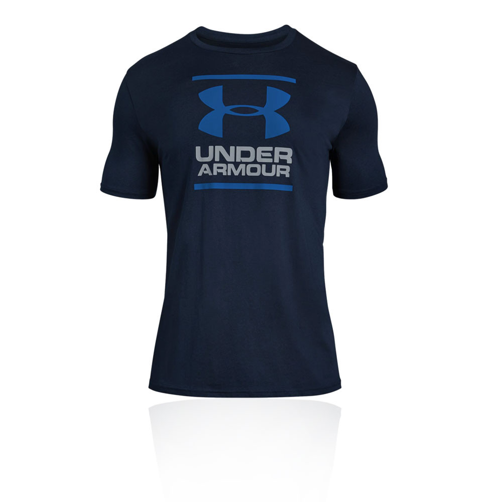 Under Armour Mens GL Foundation Short Sleeve T Shirt Tee Top White Sports Gym