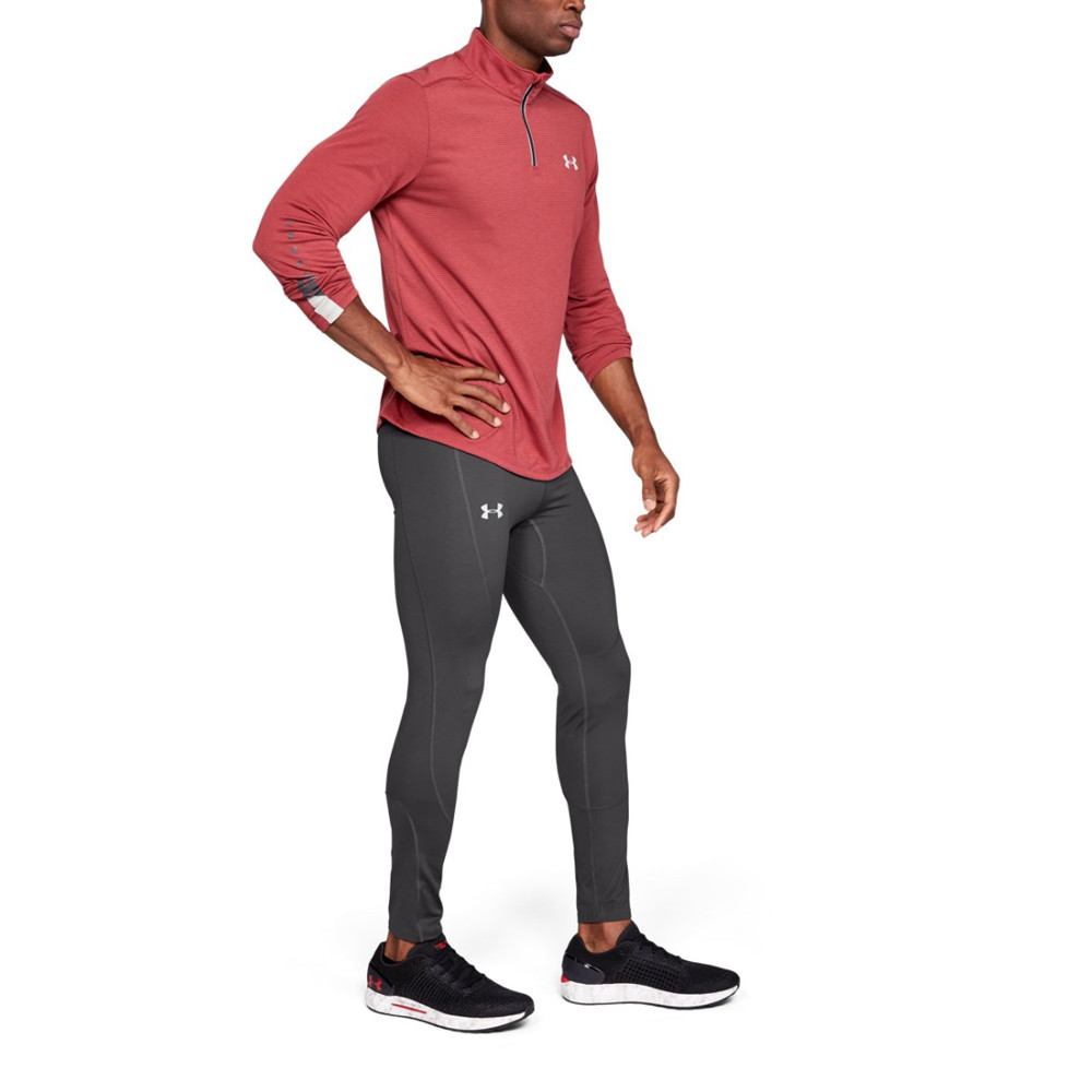 19d92dcda6 Details about Under Armour Mens Outrun The Storm Tights Bottoms Pants  Trousers Grey Sports