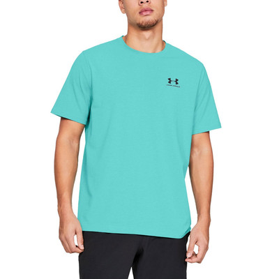 Under Armour Charged Cotton Left Chest Lockup Training T-Shirt