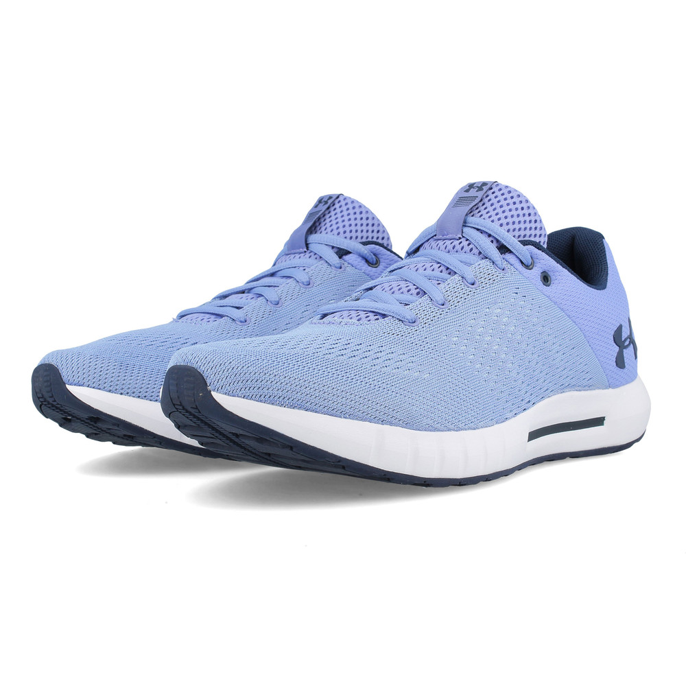 super popular f2f3b 98b6c Under Armour Womens Micro G Pursuit Running Shoes Trainers Sneakers Blue  Sports
