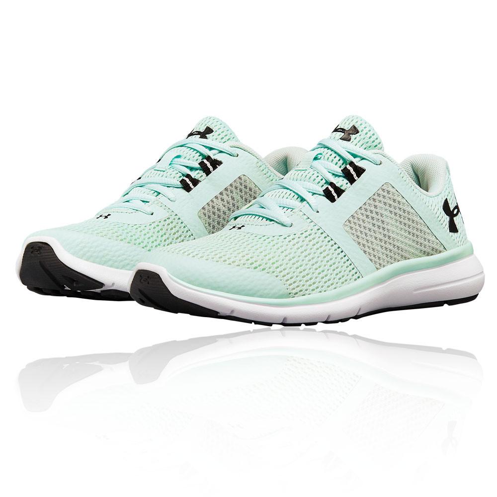 b8fa672cc9203 Under Armour Mujer Fuse Fst Correr Zapatos Zapatillas Verde Deporte Running