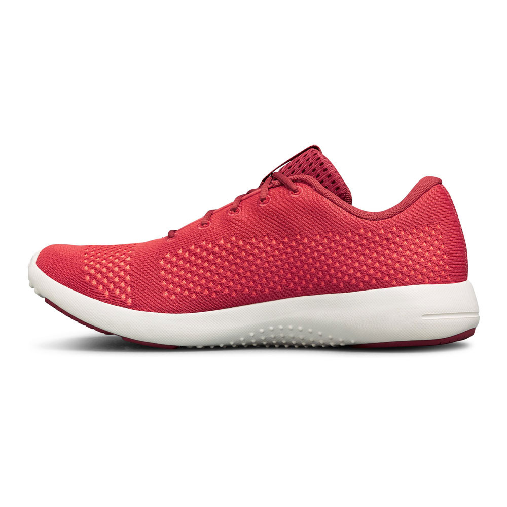 Under Armour Womens Rapid Running Shoes Trainers Sneakers Pink Red Sports